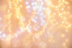 plama bożonarodzeniowe światła tło Fotografia Stock