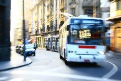 plama ruch autobusowy szybki Obraz Stock
