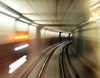 plama tunel Fotografia Stock