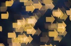 Plama wizerunek światło z kształtem Obrazy Stock