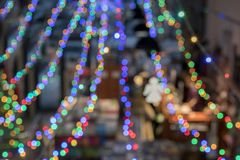 Plama wizerunek książkowy sklep na półce przy centrum handlowym dla tła użycia Plama wizerunku klientów sklep dla książek Fotografia Royalty Free