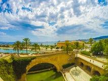Plamade Mallorca strand Royalty-vrije Stock Afbeelding