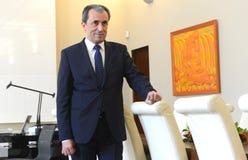 Plamen Oresharski, Pierwszorzędny minister Bułgaria Zdjęcie Stock