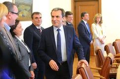 Plamen Oresharski, Pierwszorzędny minister Bułgaria Fotografia Stock