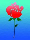 plamiąca szkło róża Obrazy Royalty Free
