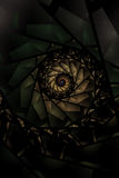 plamiący tła abstrakcjonistyczny szkło Zdjęcie Royalty Free