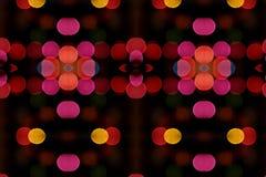 plamy świateł tapeta Fotografia Stock