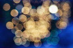 plamy bokeh świąt enhaced światła Obraz Royalty Free