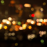 Plamy bokeh światła tekstura defocused tło Fotografia Stock