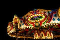 plamy carousel noc wir Obrazy Royalty Free