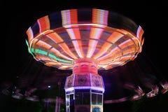 plamy carousel noc wir Obraz Royalty Free