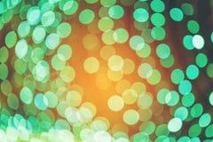 Plamy i bokeh kolorów wibrujący tło i textured Obrazy Royalty Free