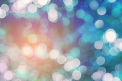 Plamy i bokeh kolorów wibrujący tło i textured Zdjęcia Royalty Free