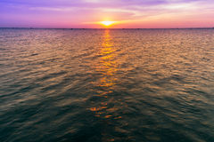 Plamy morza niebo i powierzchnia Zdjęcie Royalty Free