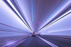 plamy ruchu tunel Zdjęcie Royalty Free