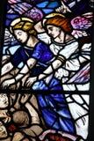 Plamy szklany okno Fotografia Royalty Free