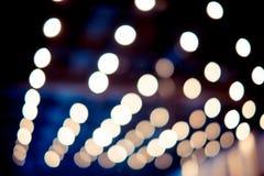 Plamy tło: Abstrakcjonistyczny okręgu bokeh oświetlenie, tekstury backgr Zdjęcia Royalty Free