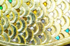 Plamy tekstury złocisty tło Obrazy Stock