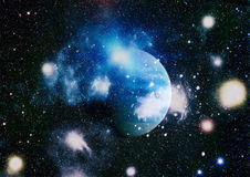 Planète - éléments de cette image meublés par la NASA Photos libres de droits