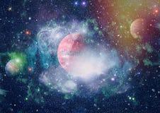 Planète - éléments de cette image meublés par la NASA Photographie stock libre de droits