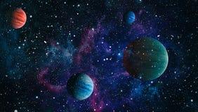 Planète - éléments de cette image meublés par la NASA Photo libre de droits