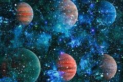 Planète - éléments de cette image meublés par la NASA Images stock