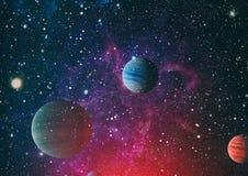 Planète - éléments de cette image meublés par la NASA Image libre de droits