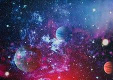 Planète - éléments de cette image meublés par la NASA Photo stock
