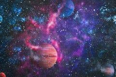 Planète - éléments de cette image meublés par la NASA Photographie stock