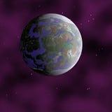 Planète éloignée illustration stock