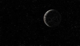 Planète étrangère dans l'espace lointain Image libre de droits