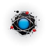 Planète abstraite de la science fiction dans l'espace Photographie stock libre de droits