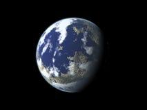 Planète bleue Image libre de droits