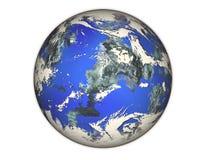 Planète bleue. Images libres de droits