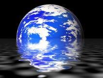 planète bleue Photos stock