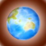 planète bleue Photos libres de droits