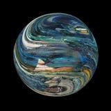 Planète bleue inconnue illustration libre de droits