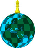 Planète d'échecs illustration de vecteur