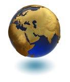planète d'or Photos libres de droits
