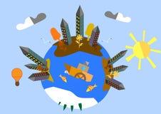 Planète d'automne Images libres de droits