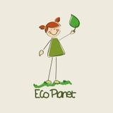 Planète d'Eco Photographie stock