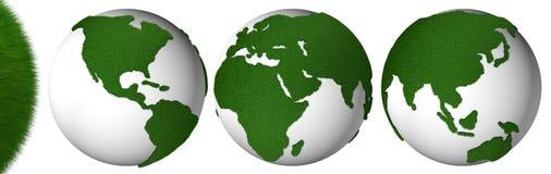 Planète d'herbe Images stock