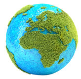 Planète d'herbe illustration de vecteur