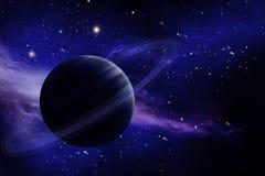 Planète dans l'espace illustration stock