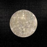 Planète de Callisto - 3D rendent Images libres de droits
