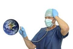 planète de docteur Images stock