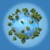 Planète de l'eau Image stock