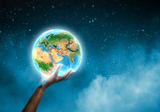Planète de la terre Photographie stock libre de droits