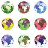 planète de la terre Images libres de droits