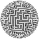 Planète de labyrinthe illustration libre de droits
